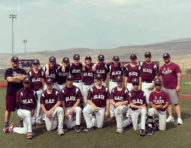 2021 14U Team at Reno Tournament